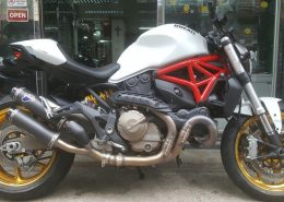Ducati Monster 821 White-2013
